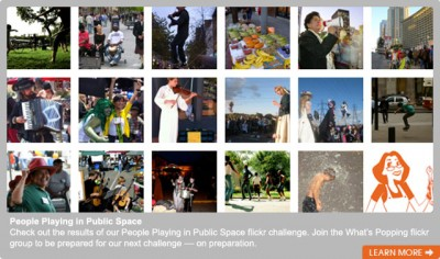Public Space Flickr Challenge results