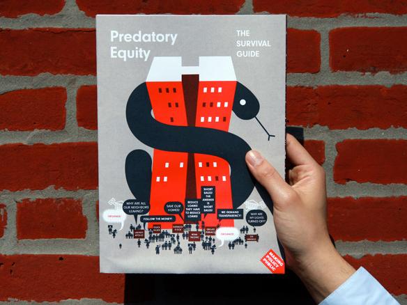 predatory equity poster