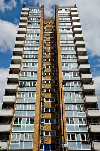 Hackney tower block