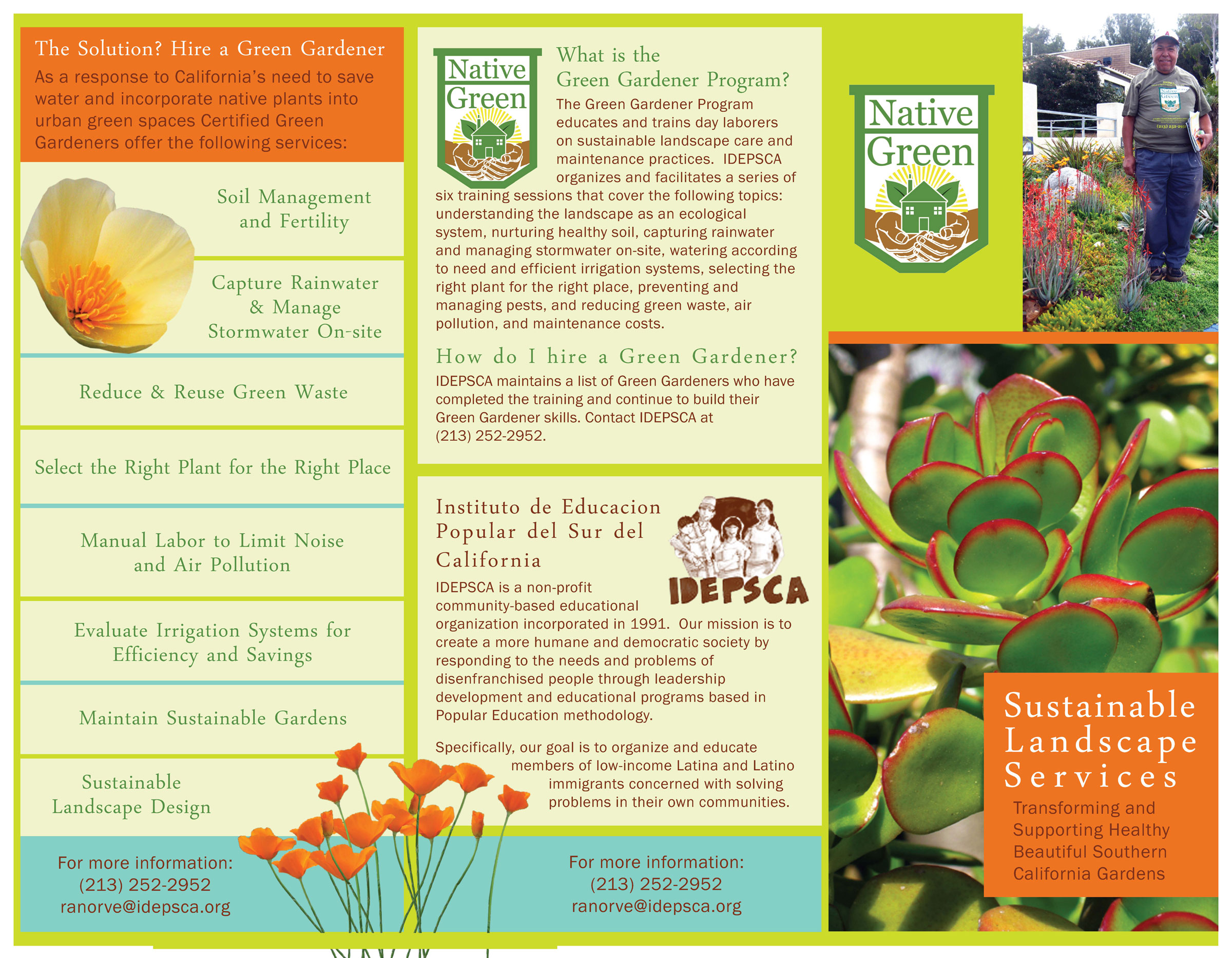 Native Green Brochure