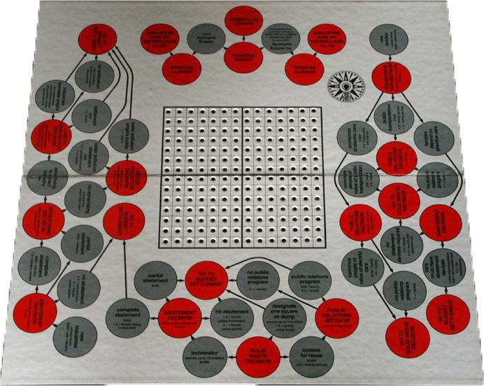 Smog Game board