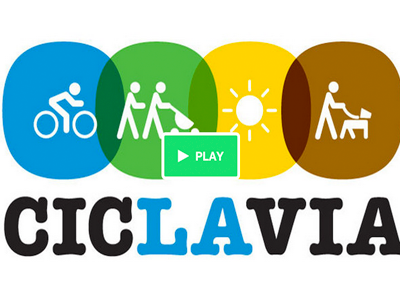 Ciclavia badge