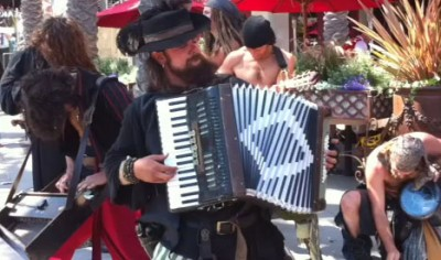street band of pirates