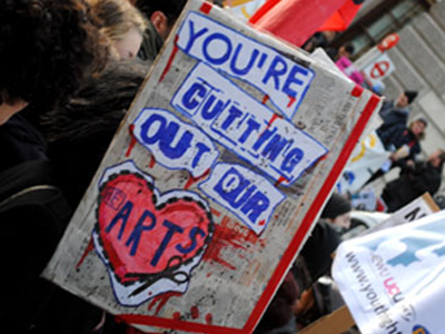 sign: your cutting out our [he]arts