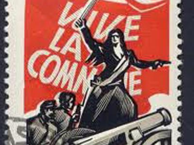 Paris Commune stamp