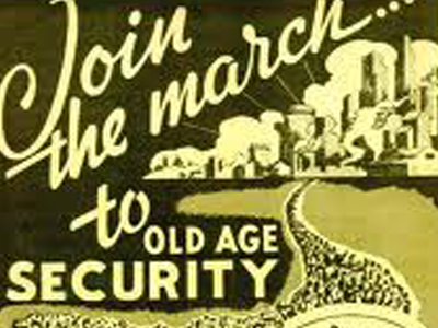 Social Security march flier