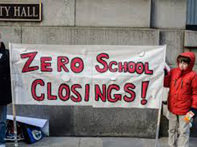 Zero school closings